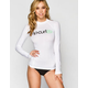 RIP CURL Surf Team Womens Rash Guard