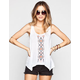 FULL TILT Embroidered Womens Tank
