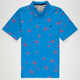 VOLCOM Flamingoed Mens Polo Shirt