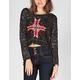 FULL TILT Marled Womens Crop Sweater