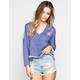 LRG Jones Womens Cold Shoulder Hoodie