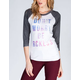YOUNG & RECKLESS Don't Worry Womens Baseball Tee