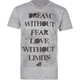 GLAMOUR KILLS Dream Without Fears Mens T-Shirt