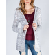 FULL TILT Womens Hooded Maxi Cardigan