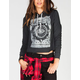 FULL TILT Eye Womens Crop Hoodie