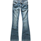 AMETHYST Five Pocket Womens Flare Jeans