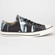 CONVERSE Chuck Taylor Bleach Low Mens Shoes