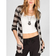 FULL TILT Tab Stripe Womens Cardigan