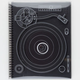 Turntable Black Series Notebook