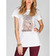 YOUNG & RECKLESS Queen Purr Womens Tee