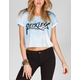 YOUNG & RECKLESS Skys The Limit Womens Crop Tee