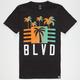 BLVD Sunset City Boys T-Shirt