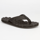 VOLCOM Recliner Leather Mens Sandals