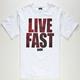 DGK Live Fast Mens T-Shirt