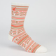 LRG Natural International Mens Crew Socks