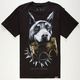 ROOK Doberman Crown Mens T-Shirt