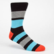 GLOBE Big Stripe Mens Crew Socks