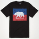 NOR CAL Split Bear Mens T-Shirt