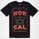 NOR CAL Crowned Mens T-Shirt