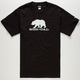 NOR CAL Black Bear Mens T-Shirt