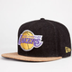 NEW ERA Lakers Cork Mens Strapback Hat