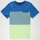 HURLEY Blockade Mens Pocket Tee