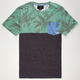 BILLABONG La Palma Mens Pocket Tee