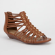 CITY CLASSIFIED Splice Double Grommet Womens Sandals