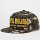METAL MULISHA At Large Mens Snapback Hat