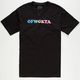 ODD FUTURE Acronym Rainbow Mens T-Shirt