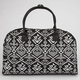 Tribal Print Duffle Bag
