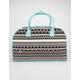 Ethnic Print Duffle Bag