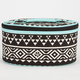 Ethnic Print Cosmetic Bag