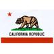 QUAGMIRE California Flag Large Sticker