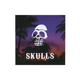 SKULLS Sunset Sticker