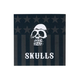 SKULLS Bars and Stripes Sticker