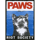 RIOT SOCIETY Paws Sticker
