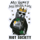 RIOT SOCIETY Mo Honey Mo Problems Sticker