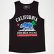 RIOT SOCIETY Space Fill Cali Republic Boys Tank
