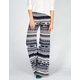 FULL TILT Ethnic Print Womens Wide Leg Pants