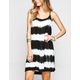RAVIYA Tie Dye Stripe Coverup Dress