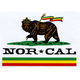 NOR CAL Rude Bear Sticker