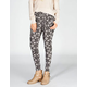 FULL TILT Diamond Ethnic Print Womens Pleated Skinny Pants
