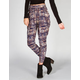 FULL TILT Tribal Print Womens Pleated Skinny Pants