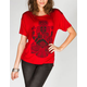 FULL TILT Hindu Goddess Womens Hi Low Tee