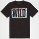 NEFF Wild Block Boys T-Shirt
