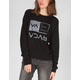 RVCA Flipped Box Womens Sweatshirt