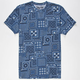 VANS Bandana Mens T-Shirt