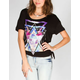 FULL TILT Celestial Womens Tie Side Tee
