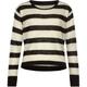 FULL TILT Stripe Girls Crop Sweater